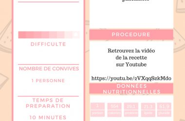 programme alimentaire fitness