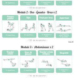 programme musculation salle