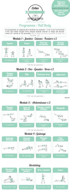 programme musculation salle