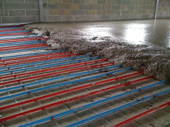 chauffage au sol hydraulique