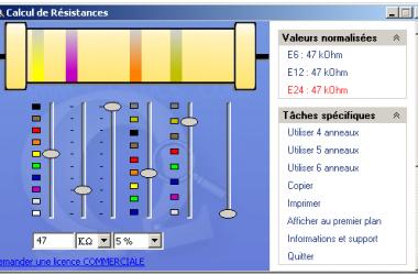 code de couleur electrique