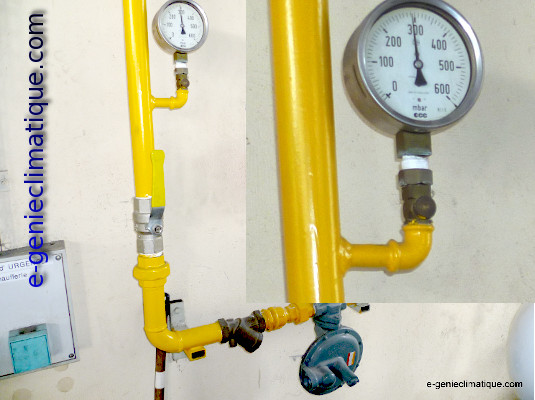 manometre gaz