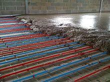 pompe plancher chauffant