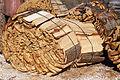 stockage bois extérieur