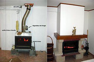 tubage cheminée dans conduit existant